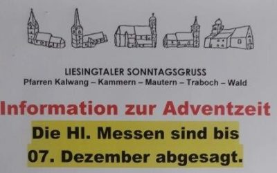 Informationen zur Adventszeit